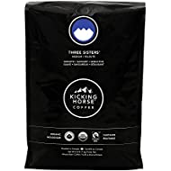 Kicking Horse Coffee, Three Sisters, Medium Roast, Whole Bean, 2.2 Pound