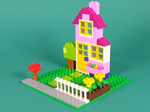 House Building Instructions with LEGO Classic 10698