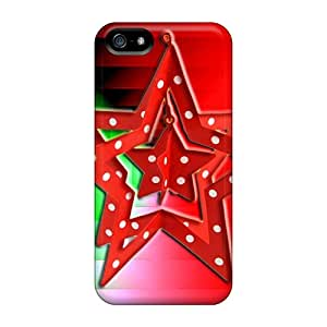 New Arrival Xmas Star For Iphone 5/5s Case Cover