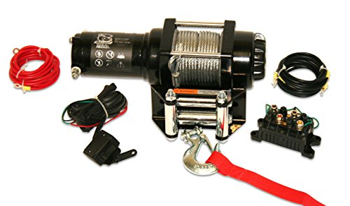 (Bulldog Winch 15006 Winch (2500lb ATV with 50 ft. Wire Rope. Mini-Rocker Switch, Mounting Channel, Roller Fairlead))