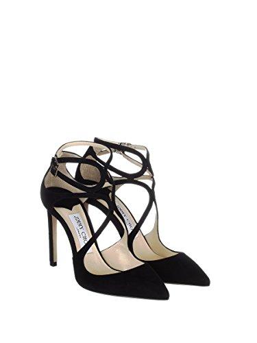 Women's Heels Jimmy Black Choo LANCER100SUEBLACK Leather BWqv51