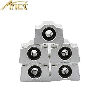 Impresora 3D – 5 piezas/lote Anet SC8UU 8 mm movimiento lineal ...