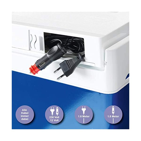 41Zy1bpZNeL Zorn® Z32 I Elektrische Kühlbox I Kapazität 30 L I 12/230 V für Auto, Boot, LKW, Balkon und Steckdose