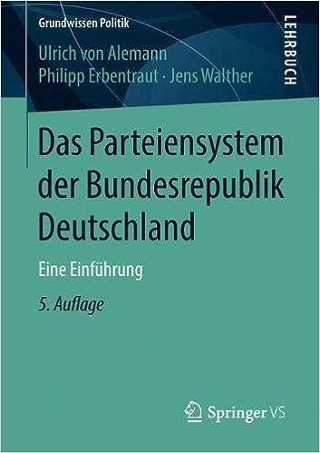Das Parteiensystem der Bundesrepublik Deutschland: Eine ...