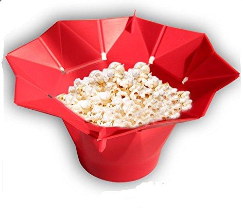 santufly microondas palomitas de maiz poppers cubo (Cherry ...