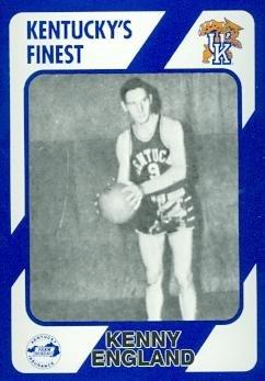 Kenny England Basketball Card (Kentucky) 1989 Collegiate Collection #203