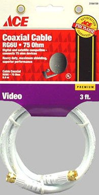 (Ace Rg6 Video Coaxial Cable (3164159))