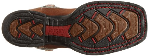 Rocky Long Navy Western Range Men's Boot B4rpB