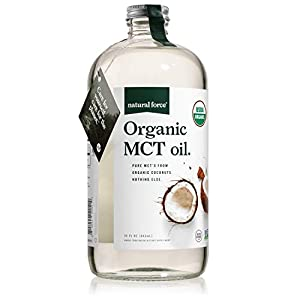 Well-Being-Matters 41Zy3JHQiQL._SS300_ Natural Force Organic MCT Oil – Pure Glass Bottle – Made from 100% Cold Pressed Virgin Coconut Oil + Certified Keto…