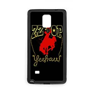 Rock Band Style BlackSamSung Galaxy Note 4 ZZ Top For SamSung Galaxy Note 4
