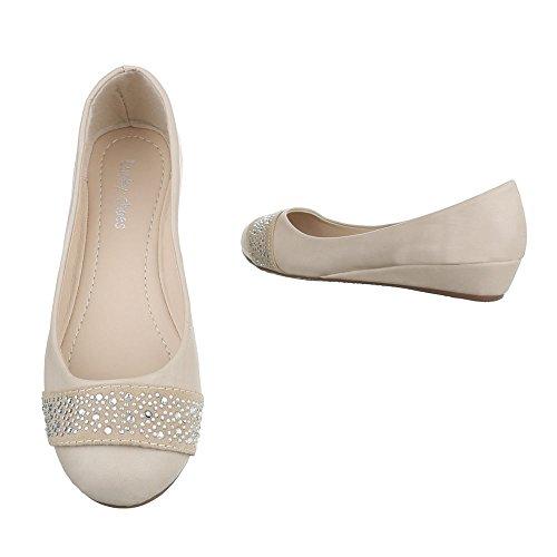 Sinttico Para De Zapatos Beige Material Ital Mujer design Vestir ZX5RwYx