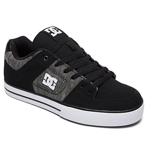 Dc Sneakers Se Noir white Black Shoes Pure grey Basses Homme pTxwBrptq
