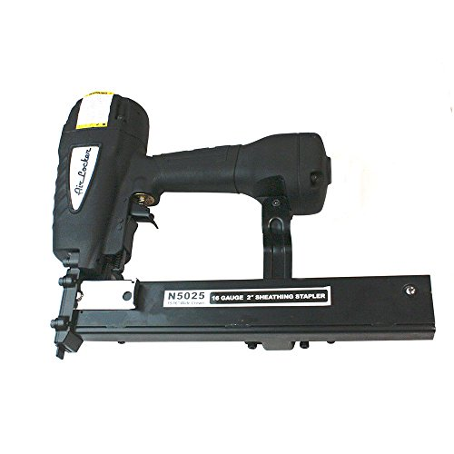AIR LOCKER N5025 16 Gauge Wide Crown 15/16 Inch Insulation, Sheathing and Fencing Stapler 2 Inch