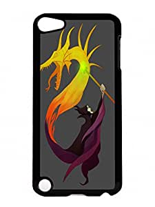 Beautiful Designed Case With Queen of Dragons Hard Plastic iPod 5 Cover Cases