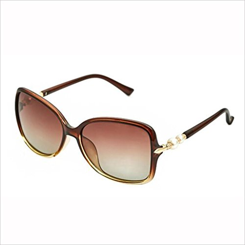 5 QZ Outdoor Travel Street Beat Gafas HOME Color de Sol Light Box Drive 4 Gafas Big Pearl Polarized Moda rrp6wHqTx