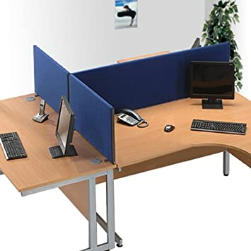 Office Screen Partition / Room Divider Privacy Office Screens 45cm Height X  160cm Width