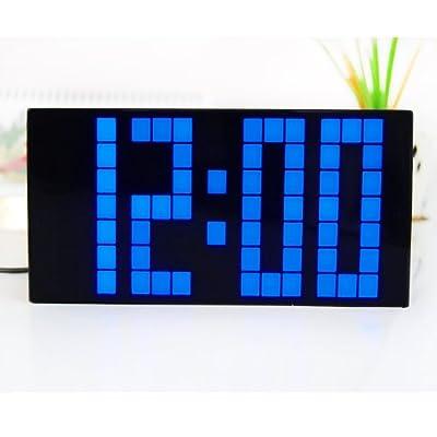 Chihai Blue LCD Digital Multi-function Snooze Alarm Clock