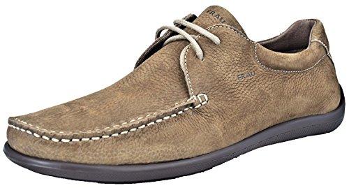FRAU - Zapatos de cordones de Piel para hombre marrón Tabaco