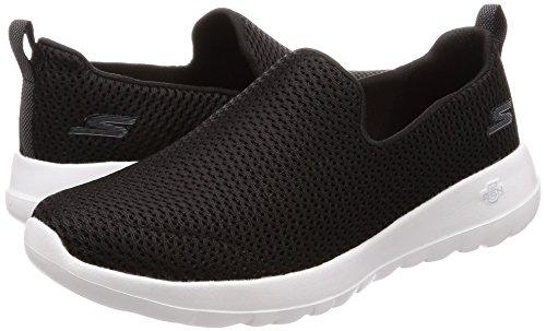 Skechers Performance Women's Go Walk Joy Walking Shoe,black/white,5 M US by Skechers (Image #6)