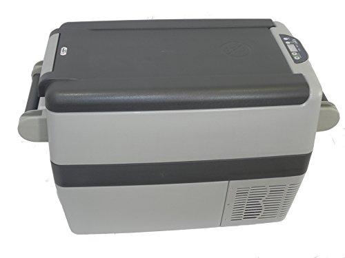 Indel B TB41A Two Tone Gray AC/DC Portable Fridge/Freezer, 42 quart