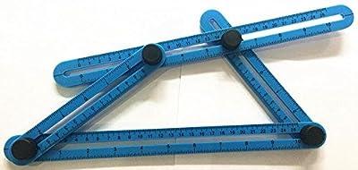 Angleizer Template Tool Angle Ruler Angle Measurement Tool Multi Angle Measuring Ruler Multi Angle Measuring Tool