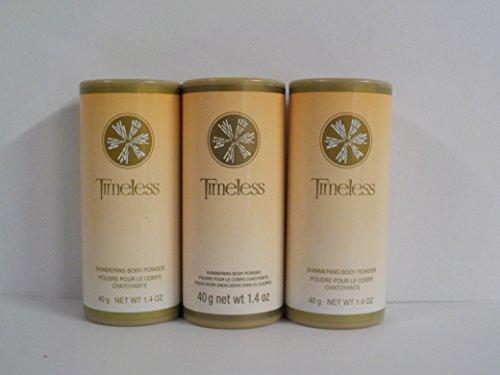 Avon Timeless Shimmering Body Powder 1.4 oz. (Lot of 3)
