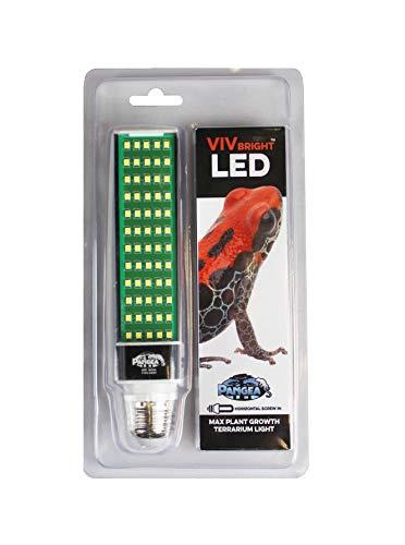 Pangea Vivbright Max Plant Growth Reptile & Amphibian LED Bulb (Terrarium Plant Lights)