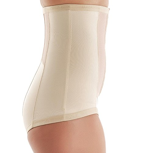 C-Section Recovery, Incision Healing, Compression Abdominal Binder - Medical-Grade Bellefit Corset LARGE by Bellefit (Image #6)