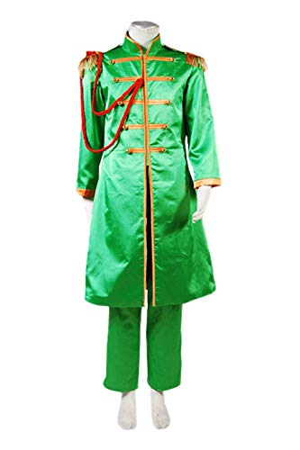 GOTEDDY Halloween Cosplay John Costume Party Dress Up Green Outfit (M) ()