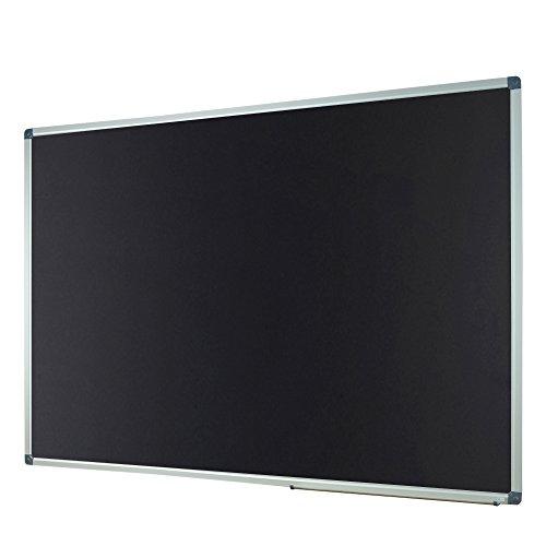 Lockways Magnetic Chalk board blackboard - Black board 60 X 40, Silver Aluminium Frame For Home, School & Office, Detachable Aluminum Pentray & 8 Magnets by Lockways