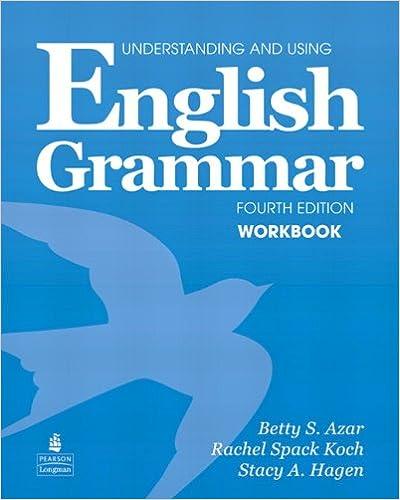 Amazon.com: Understanding and Using English Grammar Workbook (Full ...