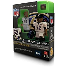 NFL Baltimore Ravens Ray Lewis Super Bowl Champion OYO Figure