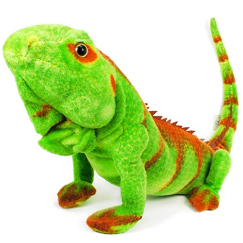 (VIAHART Iago The Iguana | 32 Inch (with Tail!) Stuffed Animal Plush Lizard | by Tiger Tale Toys )