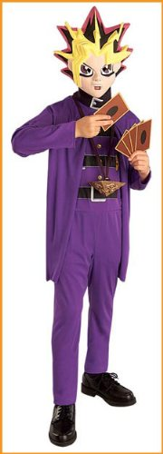 Rubie's Kids 'Yu-Gi-Oh' Halloween Costume, Purple, L]()