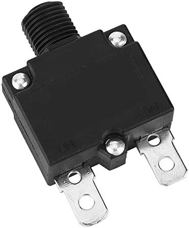 7A Beennex 10 Pcs Current Overload Protector Circuit Breaker with Water-Proof Cap 125//250Vac 50Vdc