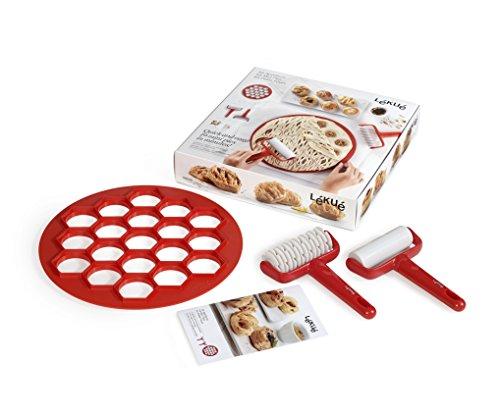 (Lekue 0200130SURM017 Mini Pie Kit, Red)