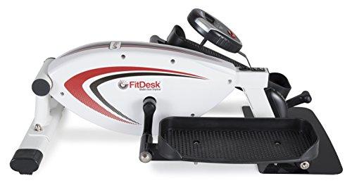 FitDesk Under Desk Elliptical Trainer - Ellipitcal Bike Pedal Machine for Home Use or Office