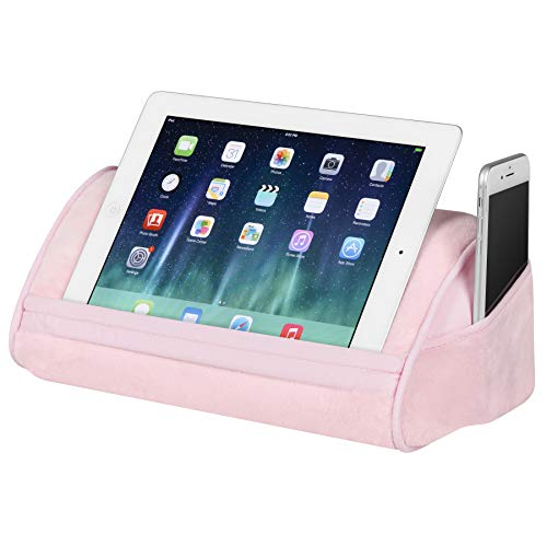 LapGear Original Tablet Pillow/Tablet Stand - Rose Quartz (Fits up to 10.1