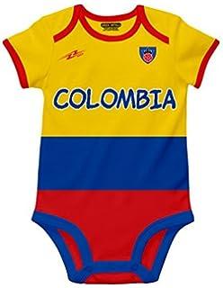 Amazon.com: CafePress – Colombia equipo de fútbol bebé ...