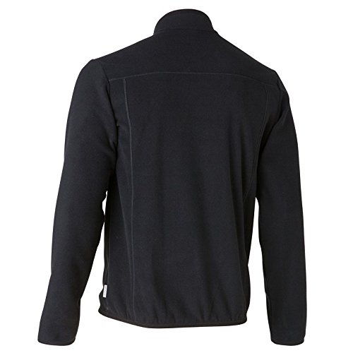 QUECHUA-FORCLAZ-200-MENS-FLEECE-BLACK