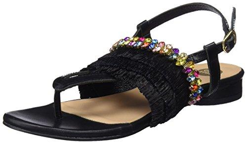 Ouvert Sandales Bout Noir 45285 Black Femme Gioseppo OqzA0xw4