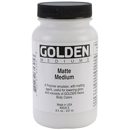 Golden Acryl Med 32 Oz Matte Medium