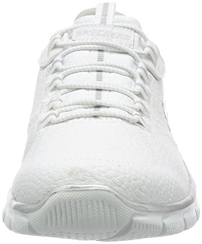 Empire Sneaker nbsp;take Schwarz Charge Silber Weiß Damen Skechers AqfIwx5W