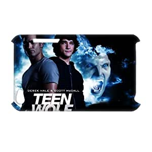 3D Print Hot TV Play Series&Teen Wolf Background Case Cover for iPod Touch 4 - Personalized Hard Back Protective Case Shell-Perfect as gift