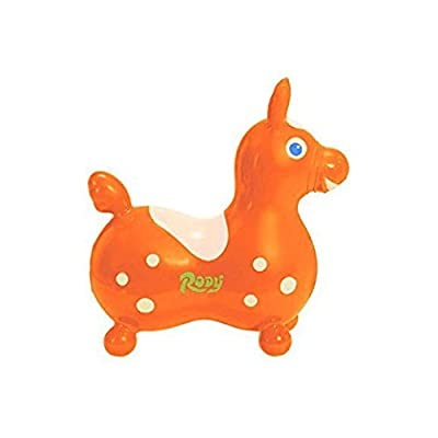 Gymnic Rody Horse Toy, Orange, One Size: Toys & Games