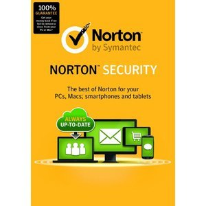 Symantec Norton Security Deluxe,5 Devices 1 Year Anti-Virus PC/Mac/Android/iOS, New (Best Lightweight Antivirus Android)