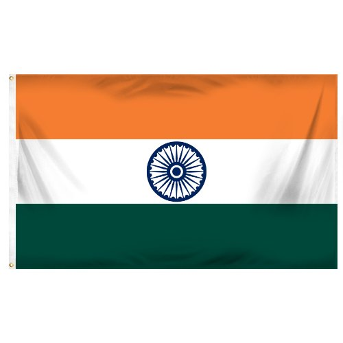 Online Stores India Printed Polyester Flag, 3 by - India Online And Store