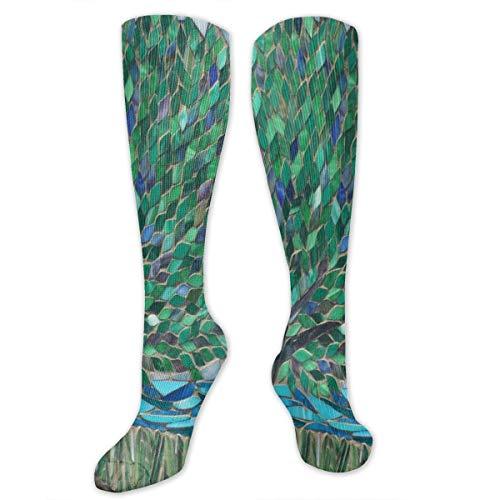 Compression Socks Green Life Evergreen Tree Fabulous Winter Warmth for Women & Men Flight (Evergreen Stocking)