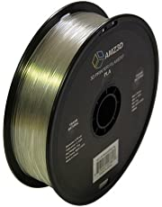 1.75mm Trans Natural PLA 3D Printer Filament - 1kg Spool (2.2 lbs) - Dimensional Accuracy +/- 0.03mm