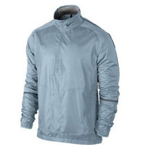 Nike Men's 1/2 Zip Wind Jacket - (Nike Windproof 1/2 Zip Jacket)